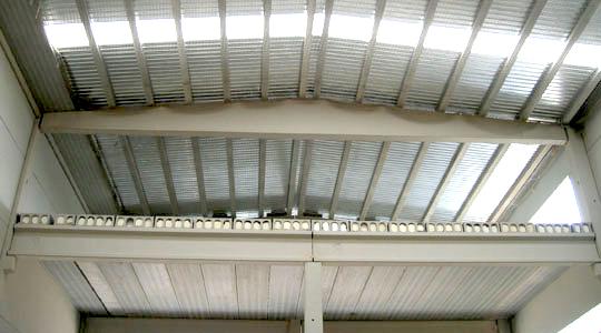 Ingedeck cubiertas fachadas forjados met licos - Cubierta chapa galvanizada ...